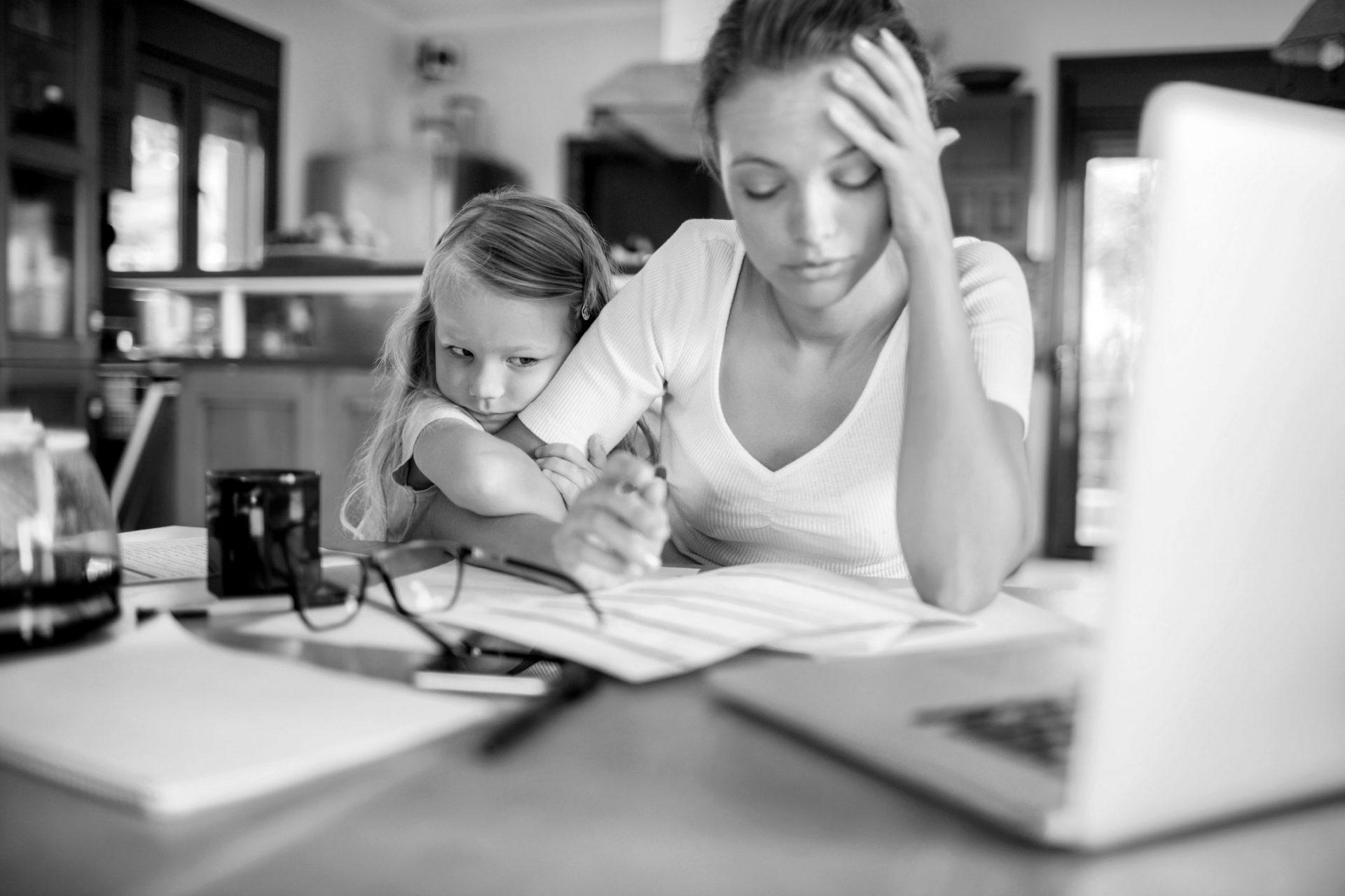 stresset mor trenger stressmestringskurs